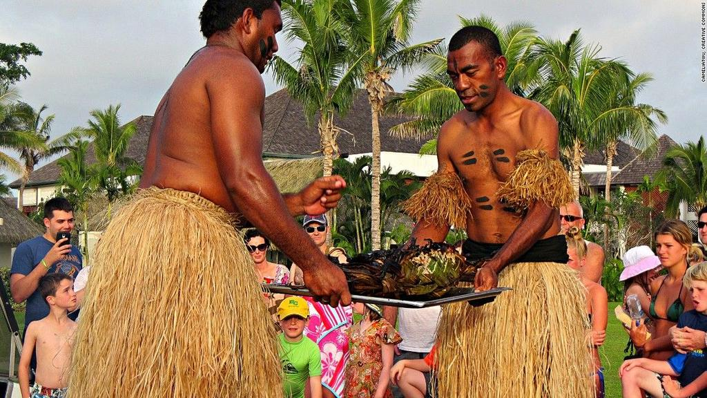 Lovo (Fiji) Fiji's barbecue tradition has more of an underground approach compared to other nations.