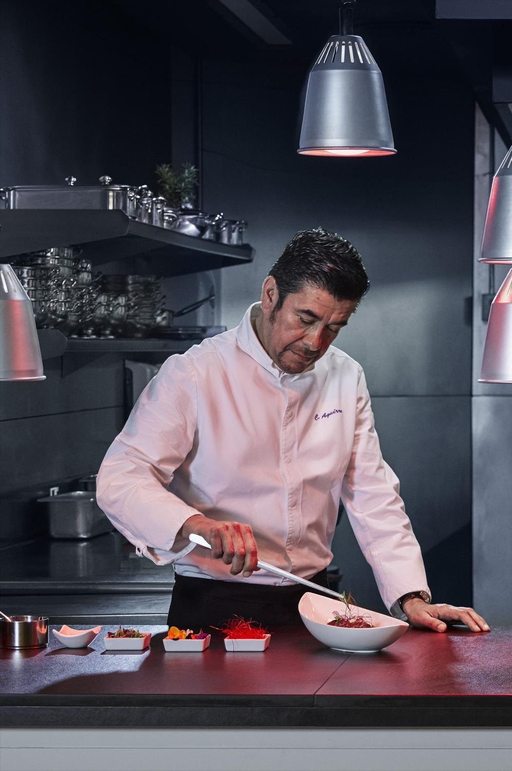 he creator of the delicious and multifarious menus of Royal Catering is the chef of Fairmont Rey Juan Carlos I, Claudio Aguirre.