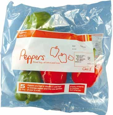 UNECE Explanatory Brochure on the Standard for Sweet Peppers Photo 82 Presentation: Packaging sales unit 64 The materials used inside the package must be clean and of a quality such as to avoid