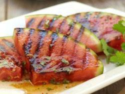 Grilled Spicy Watermelon Transform watermelon from sweet to savory with this mouthwatering Thai-inspired sauce.