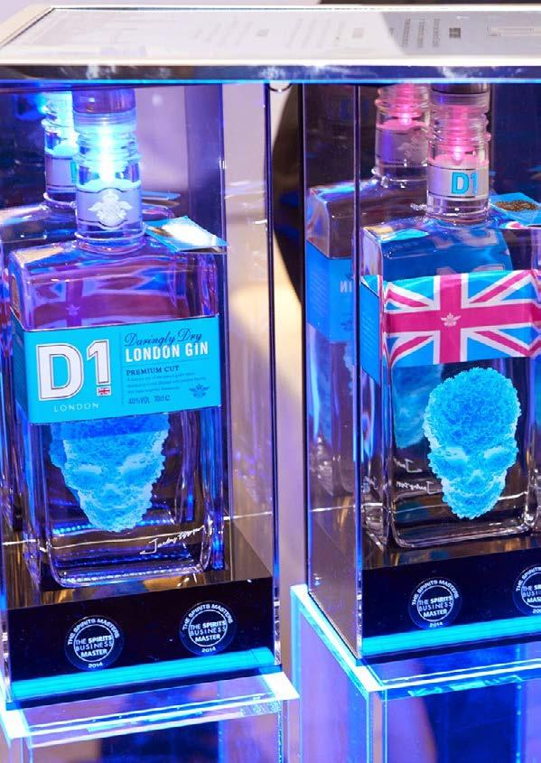 D.J. LIMBREY DISTILLING CO. UK D1 London Gin is a new class of luxury spirit from D.J. Limbrey Distilling Co. blending traditional distilling craft with contemporary art.