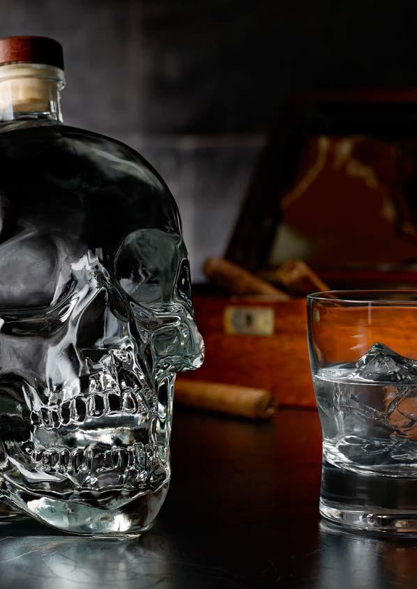 CRYSTAL HEAD VODKA Canada THE FINEST VODKA IS UNTOUCHED. NATURALLY SMOOTH.