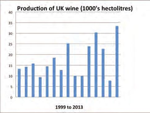 STATS & PRODUCTION respected consultant, author and Master of Wine with many years of experience of UK viticulture.