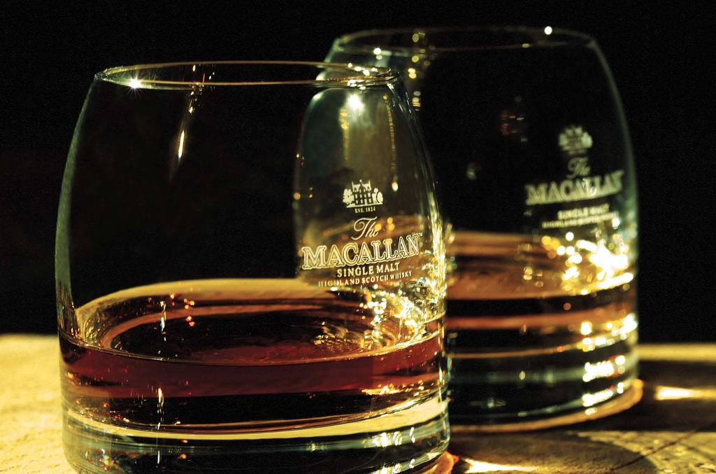 THE MACALLAN EXPERIENCE Purchase a dram of The Macallan AND RECEIVE A COMPLIMENTARY GOURMET CHOCOLATE MACALLAN GOLD 5.50 25ml Want to try whisky but not sure where to start?