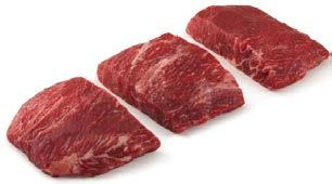 Beef Market News MARKET UPDATE Tenderloin: Steady Ribeye: Decreasing Strips: Descreasing Ground Beef: Steady HIGHLIGHT: CAB Flat Iron it seems not long ago that the flat iron was all the rage as a