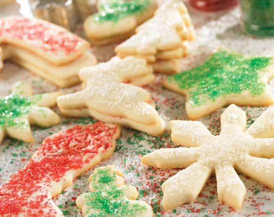 Sugar Cookies Traditional cut out cookies, perfect for the holidays or everyday!