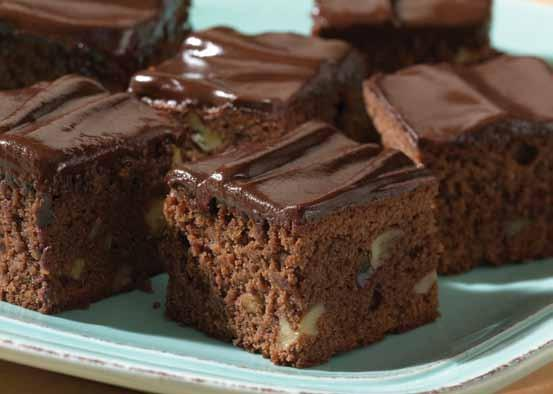 Chocolate Glazed Brownies Moist and dense, the ultimate chocolate dessert.