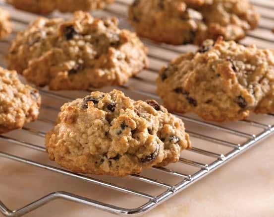 Oatmeal Hermits A delicious oatmeal cookie that never goes out of style!