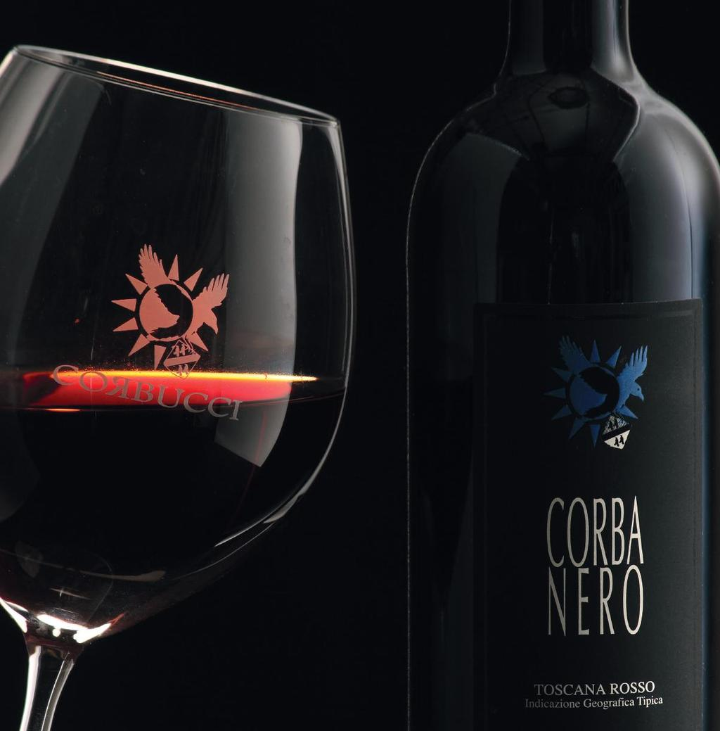 CORBA NERO Supertuscan Toscana Rosso IGT Cabernet Sauvignon 100%. Sant Andrea a Gavignalla, fraction of Gambassi Terme (Florence-Tuscany) in vineyard with ages ranging from 50 to 10 years.