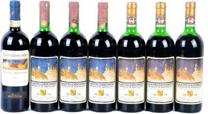 Brunello di Montalcino 40 Banfi, 1990**** Collectibles WS 93/100 a.3 Bot HK$ 800.00 Liv. 3 / 2 bot damaged labels b.3 Bot HK$ 800.00 1 bot liv. 4 (3,8 cm from capsule), 1 bot liv.