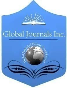Global Journal of HUMANSOCIAL SCIENCE: D History, Archaeology & Anthropology Volume 14 Issue 6 Version 1.