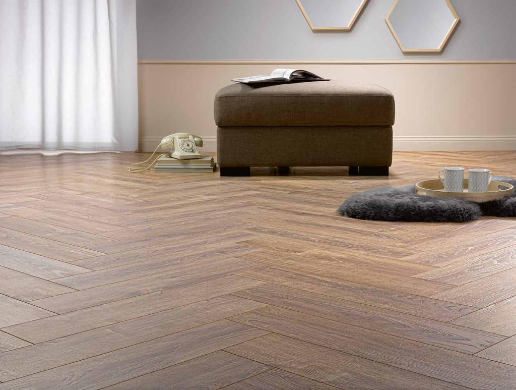 LAMIATE COLLECTIO Choosing laminate flooring means choosing flooring which looks good in any room and which is designed for all home and business uses.