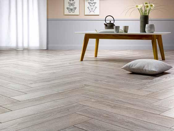 12 mm Herringbone Reinvented classic installation : Herringbone! Parquet at its best, with highly-contemporary plank size and patterns!