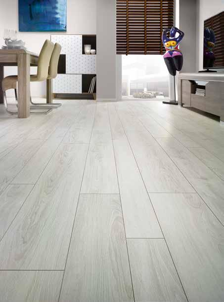 12 mm Mixed-Width planks Combine the 12mm bevelled ranges, for a marvellous f inish!