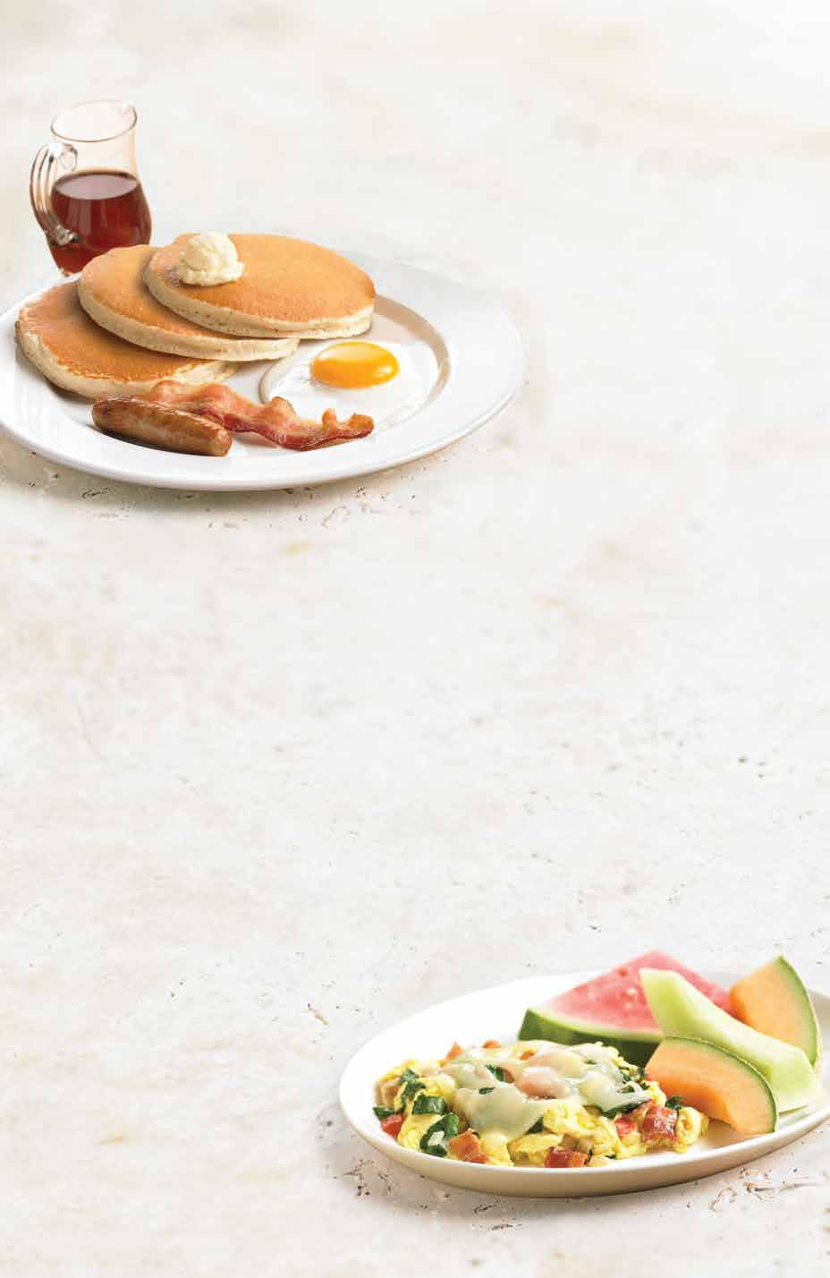 CLUB 55 BREAKFAST Affordable, High Quality Breakfast & Healthier Options for our Guests 55 and Above.* * Please no coupons with Club 55.