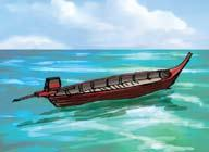 a boat the boy Most nouns name things which you