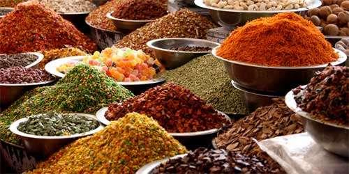 Spices from lands