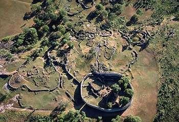 The city of Great Zimbabwe