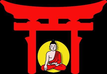 The teachings of Buddhism were compatible with ancient Shinto practices.