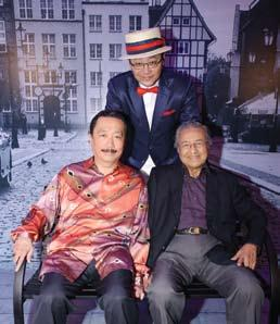 Dato Seri Vincent Tan and Dato Robin Tan.