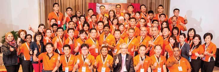 Food & Beverage KRR Franchise Convention 2014 The first ever Kenny Rogers ROASTERS ( KRR ) Franchise