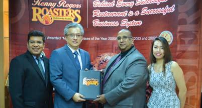 Kenny Rogers Roasters expands to Dubai, United Arab Emirates Roasters Asia Pacific (Cayman) Ltd.