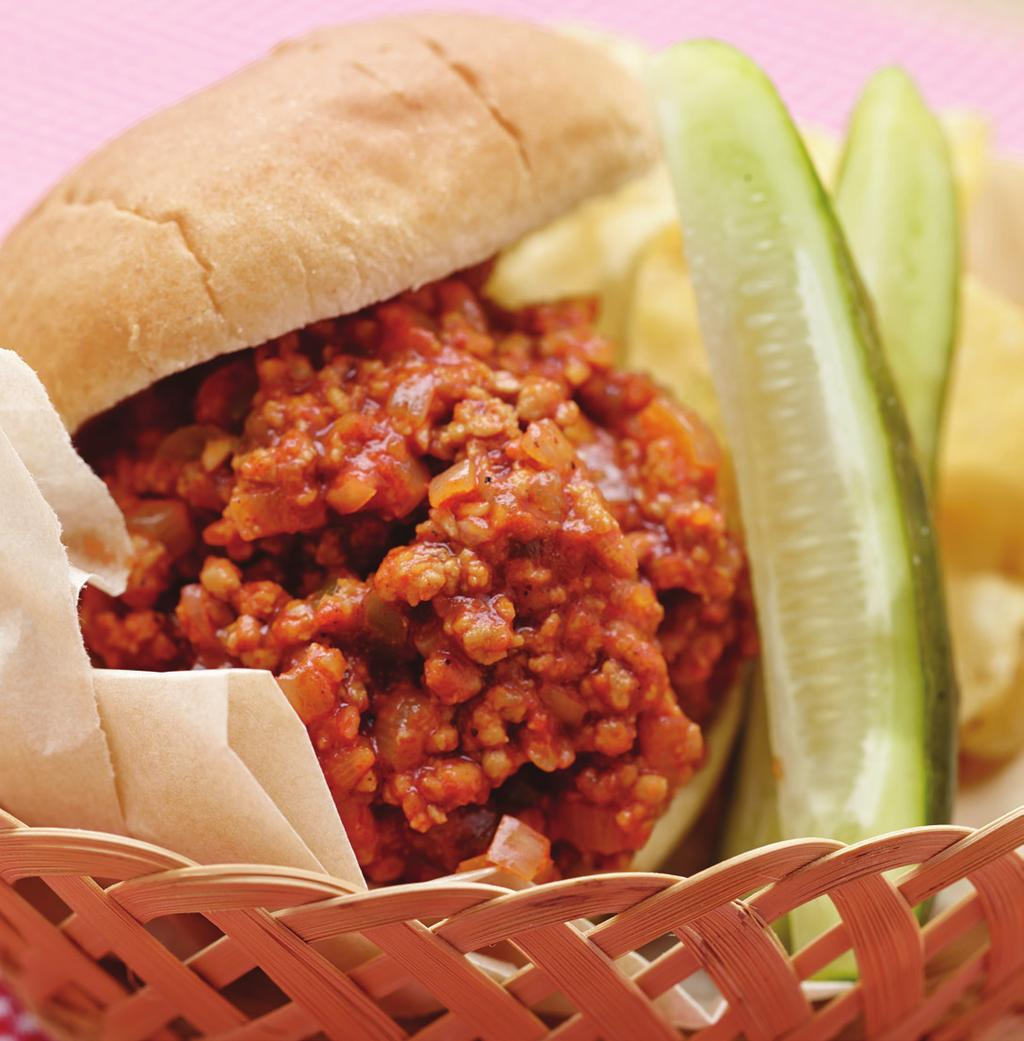 Veal Sloppy Joe Yield: 4 each 1/2 cup portion 1 tablespoon Canola Oil 8 ounces Ground Veal 1/2 Tablespoons Salt 1/8 teaspoon Black Pepper 1-1/2 Tablespoons Sloppy Joe Season Blend or Taco Seasoning