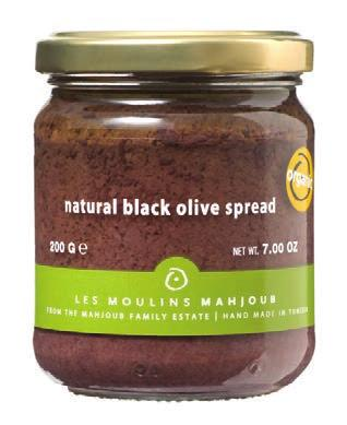 OLIVES & CONDIMENTS OLIVES & CONDIMENTS ORGANIC ORGANIC LES MOULINS MAHJOUB ORGANIC OLIVES SOFI Silver Outstanding Product Line 2002, 2009 The Mahjoub family farms the soil in the lush Mejerda Valley