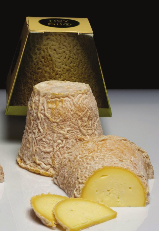 from a farm in the village of Cogollo. The natural rind has a mold that is predominately geotricum candidum. Intense flavor of wildflowers and fresh milk, with hints of hazelnut and butter.