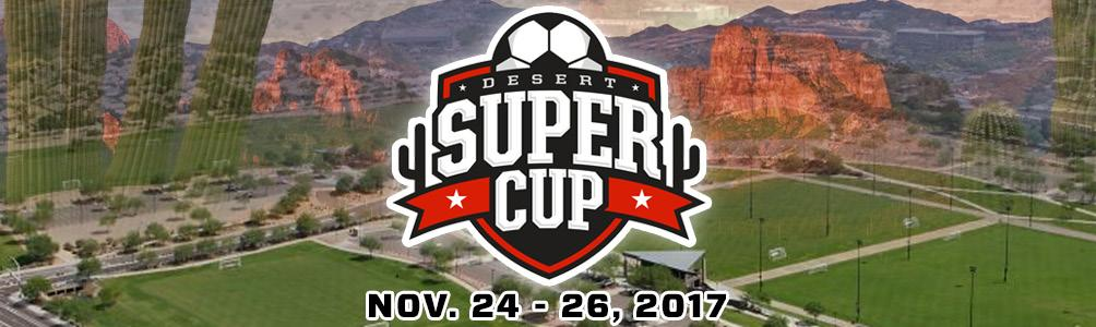 Tournament Participant, On behalf of the tournament committee, welcome to the 2017 Desert Super Cup Tournament over Thanksgiving!