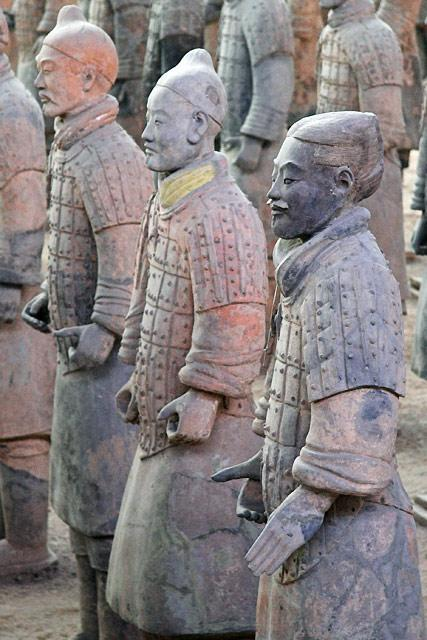 Terra Cotta Warriors Built as guides to lead Qin Shi Huang into the