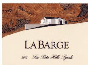 Wine & Spirits Offset - Line/Prime Collotype Labels North American Wine and Spirits LaBarge, 2012 Sta Rita Hills Syrah Flexography - Color Process - Non-prime