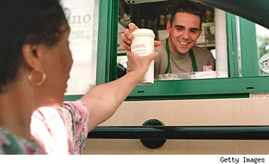8 Starbucks Barista Employee Playbook Guide Drive Through You are the Barista in charge of handling our new convenient, technology based customer drive through experience.