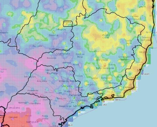 30 day P/PET (9 Oct 8 Nov) 30 day rainfall total (9 Oct 8 Nov) Rainfall mm total P/PET Map 8 Map 9 One week of rainfall or low P/PET may not impact plant health / crop growth but over 30 days the