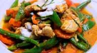 and cashew nuts in our delicious original Thai style No.20 PAD NOR-MAI 19.
