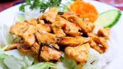 Special Orders With chicken or pork or beef or tofu ($13.95) with prawns or squid ($15.95) with mix seafood ($15.95) 53.