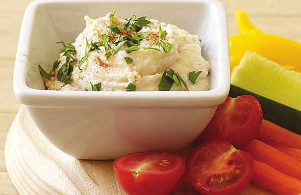 Snack Break Feeling munchy? Cut up some veggies and dig into these dips.