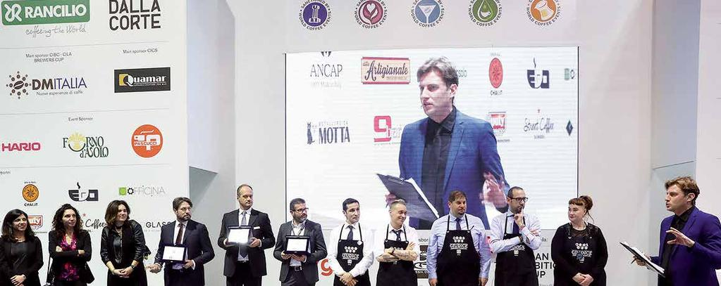 This will be the ideal setting for the performance of all the competition finals dedicated to coffee, and which can be traced back to the prestigious international circuit of the WCE (World Coffee