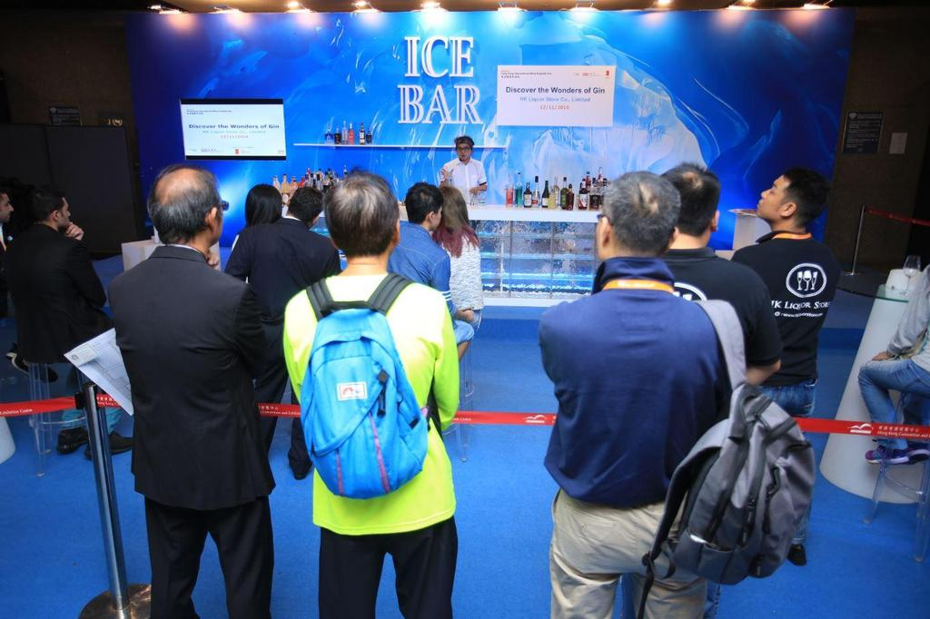 Ice Bar at HKIWSF 2016 Ice Bar Layout at HKIWSF 2016