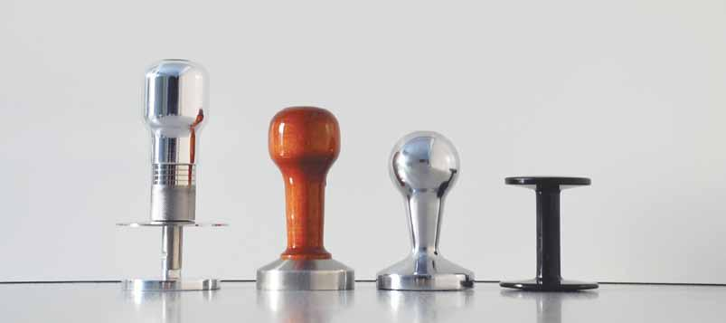 Tampers Style Wodden-stainless steel tamper Made by Nuova Ricambi.