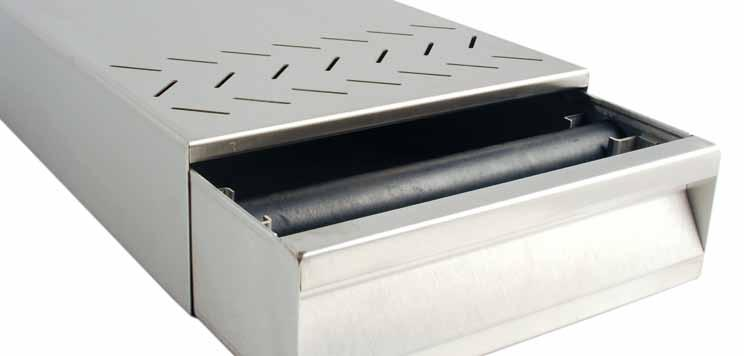 Knock Box Drawers Stainless