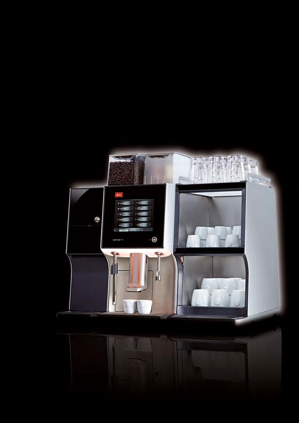 Cafina XT6 Choosing a new automatic coffee machine is an important decision for my business. So where should I begin? The new Cafina XT6 really does look good.