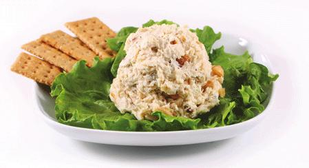 Our Famous Chicken Salads Nutty Nana Nutrition Facts: Serving Size (128g).