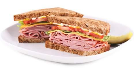 Kids Meals Virginia Ham Sandwich Portion Size: 1/2 Sandwich Contains: