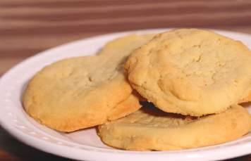 Freshly Baked Cookies Lemon Portion Size: 1