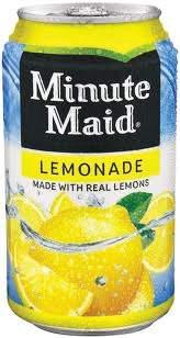 Drinks Lemonade Portion Size: 12