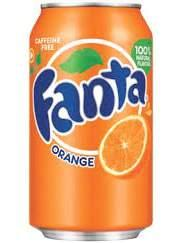 Drinks Fanta Orange
