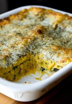 Autumn Lasagna Olive oil for drizzling 1 ¼ lb.