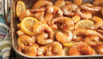 Prep Time: 5 minutes Cook Time: 15 minutes fiery cajun shrimp 3 tbsp lemon juice 2 tbsp canola oil 1 tbsp low-sodium Worcestershire sauce 1 tsp unsalted butter, melted 2 garlic cloves, minced 1 tsp