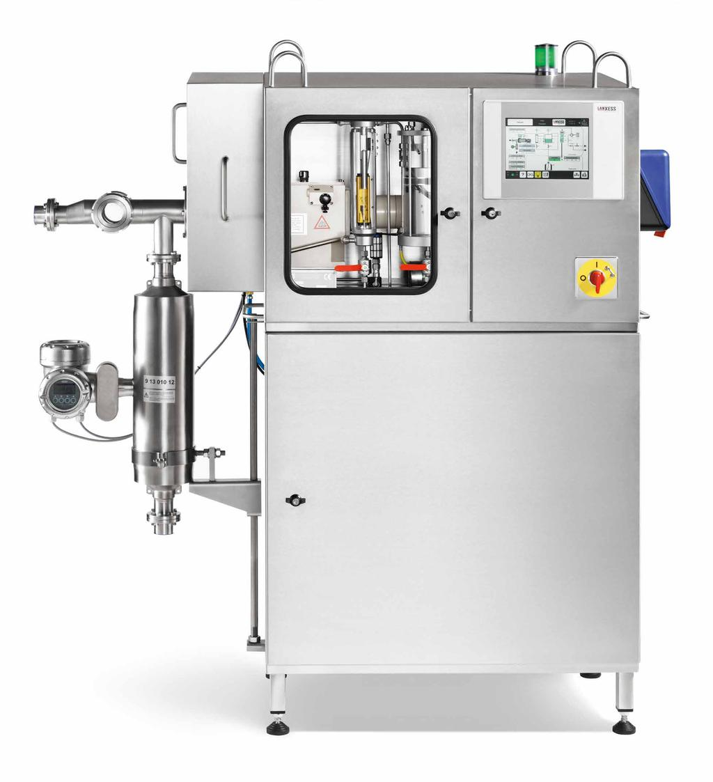 VELCORIN DT TOUCH DOSING TECHNOLOGY With Velcorin we not only offer you a highly effective solution for the cold sterilisation of your beverage, but also provide you with a complete range of services